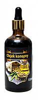 Конопляное масло косметическое, масло из семян конопли нерафинированное 30 ml, Три зерна