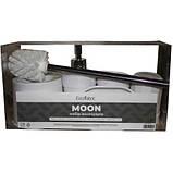 Набор аксессуаров для ванной Eco Fabric MOON (5 предметов) TRL-1251-SW белый, фото 2