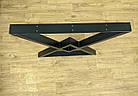 """Ножки металлические """"Delta"""" для стола в черном цвете, фото 9"""