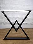 """Ножки металлические """"Delta"""" для стола в черном цвете, фото 5"""