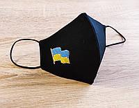 Маска  флаг Украины