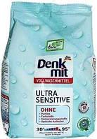 Порошок пральний Denkmit (Німеччина) Vollwaschmittel Ultra Sensitive для дитячої білизни 1,21