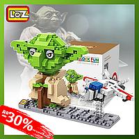Конструктор LoZ ''Star Wars'' Йода 360 деталей Детский Конструктор типа LEGO для Мальчиков