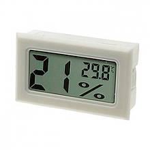 Термометр цифровой с гигрометром WSD-12 ТОЛЬКО БЕЛЫЕ