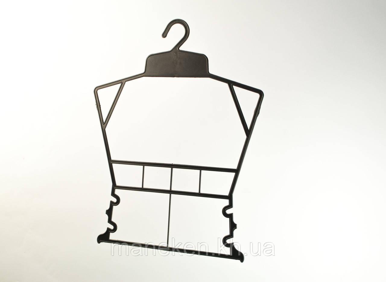 """Вешалка-рамка для одежды TREMVERY """"Рамка детская"""" черная Z"""
