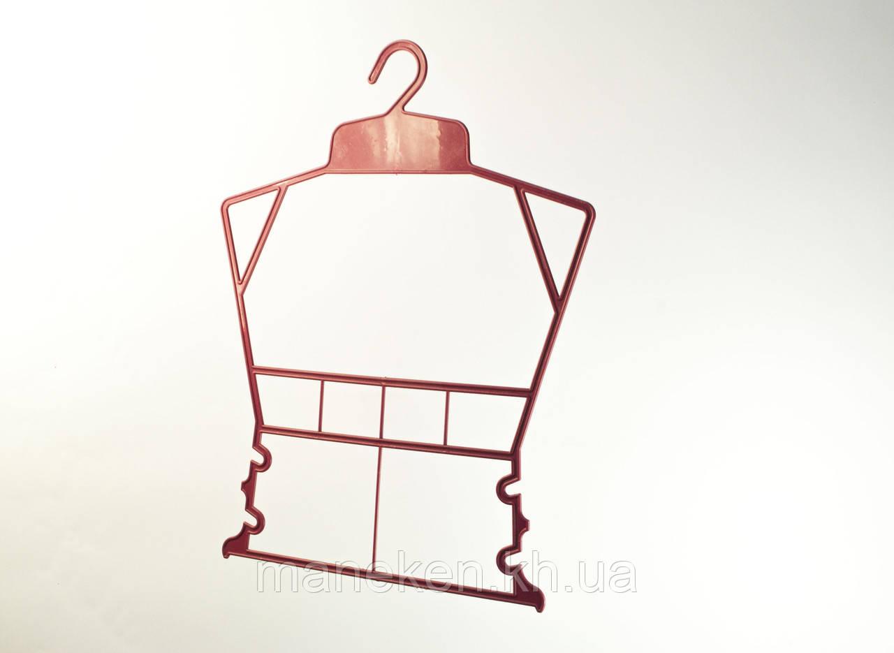 """Вешалка-рамка для одежды TREMVERY """"Рамка детская"""" красная (101636) P2color"""