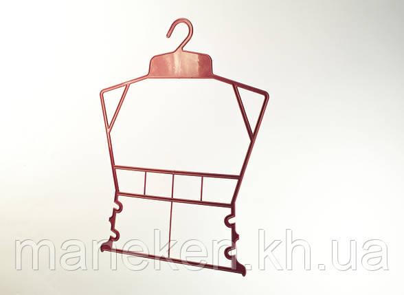 """Вешалка-рамка для одежды TREMVERY """"Рамка детская"""" красная (101636) P2color, фото 2"""