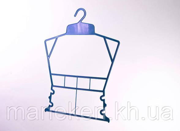 """Вешалка-рамка для одежды TREMVERY """"Рамка детская"""" синяя P2color, фото 2"""