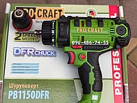 Сетевой шуруповерт ProCraft PB1150DFR электрический дрель-шуруповерт