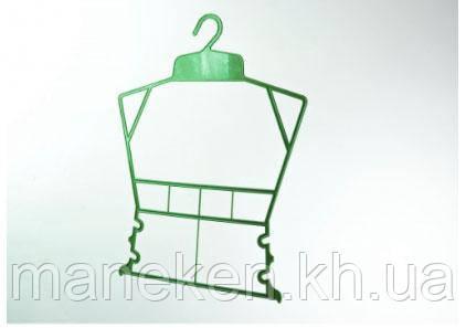 """Вешалка-рамка для одежды TREMVERY """"Рамка детская"""" зеленая P2color"""