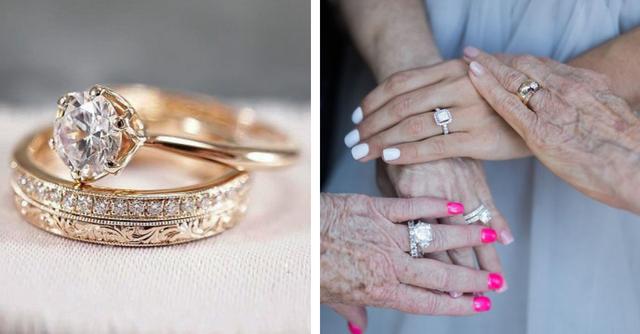 Как носить помолвочное кольцо — фото №5