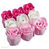Мыльная роза, роза из мыла, цветы из мыла оптом 81 шт