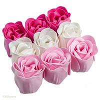 Мыльная роза, роза из мыла, цветы из мыла оптом 81 шт, фото 1