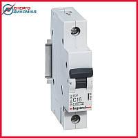 Автоматический выключатель Legrand RX3 16А 1п C 4.5кА 419664