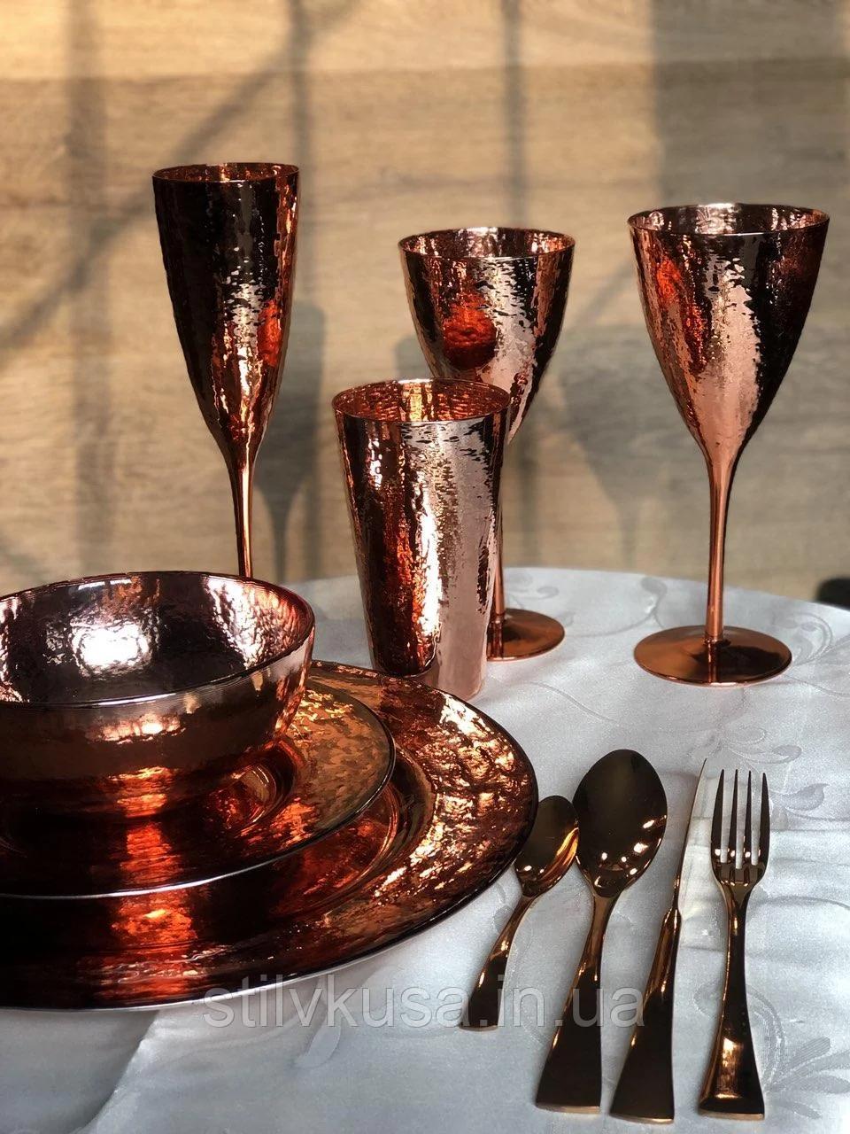 Набор бокалов для вина Роуз-Хаммерд 375 мл, 4 шт