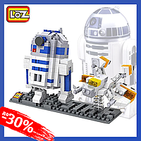 Конструктор LoZ ''Star Wars'' Друид 390 деталей Детский Конструктор типа LEGO для Мальчиков
