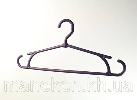 """Вешалка для одежды TREMVERY """"Зима"""" темно-фиолетовая P2color, фото 2"""