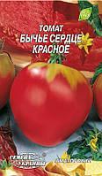 Семена томата Бычье сердце красное 0,2 г, Семена Украины
