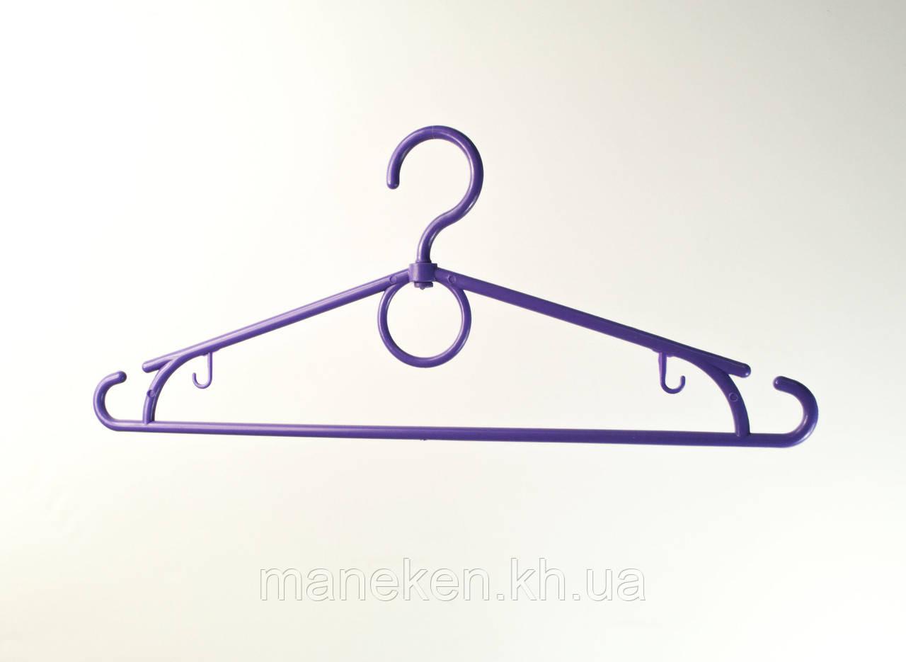"""Вешалка для одежды TREMVERY """"Лето"""" фиолетовая P2color"""