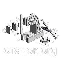 Optimum DDP 30 пресс ручной механический реечный оптимум, фото 2