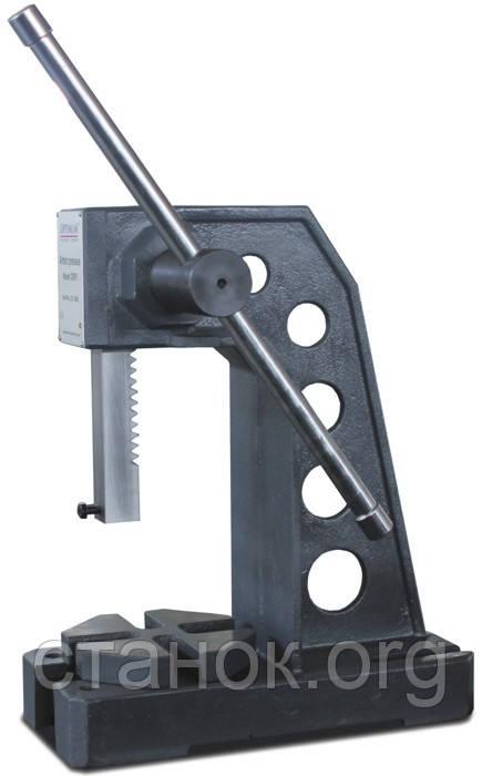 Optimum DDP 30 пресс ручной механический реечный оптимум