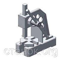 Optimum DDP 30 пресс ручной механический реечный оптимум, фото 3