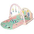 Килимок для немовляти 9915B з піаніно, МР3, мікрофон, музика, світло, фото 2