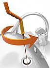 Инструмент для чистки канализации The DRAIN Waesel PLUS   Прибор для чистки труб, фото 6