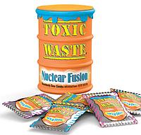 НОВИНКА! 2 вкуса! Токсик Вейст. Очень кислые конфеты. Toxic Waste. Nuclear Fusion. Оранжевые