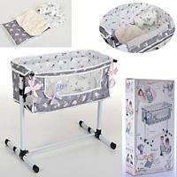 Кровать - манеж для куклы (Baby Born) TM DeCuevas арт. 51235