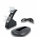 Подставка-зарядка для джойстиков PS4 Slim Pro на 2 джойстика, фото 3