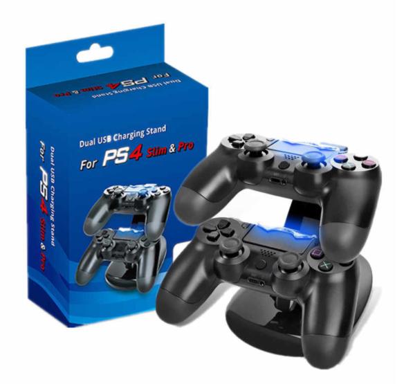 Подставка-зарядка для джойстиков PS4 Slim Pro на 2 джойстика