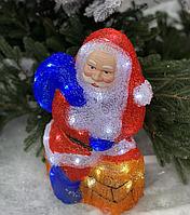 Светящаяся Фигура (LED) Новогодний Дед Мороз рождественские украшения для дома под елку на новый для детей.