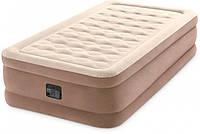 Надувная кровать Intex со встроенным электрическим насосом, фото 1