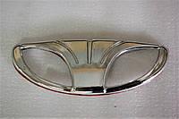 Эмблема (DAEWOO) багажника и капота Ланос, решетки капота Нексия grog Корея, фото 1