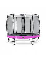 Качественный батут для детей EXIT Elegant Premium 305cm purple  с защитной сеткой Стандарт (Нидерланды), фото 1