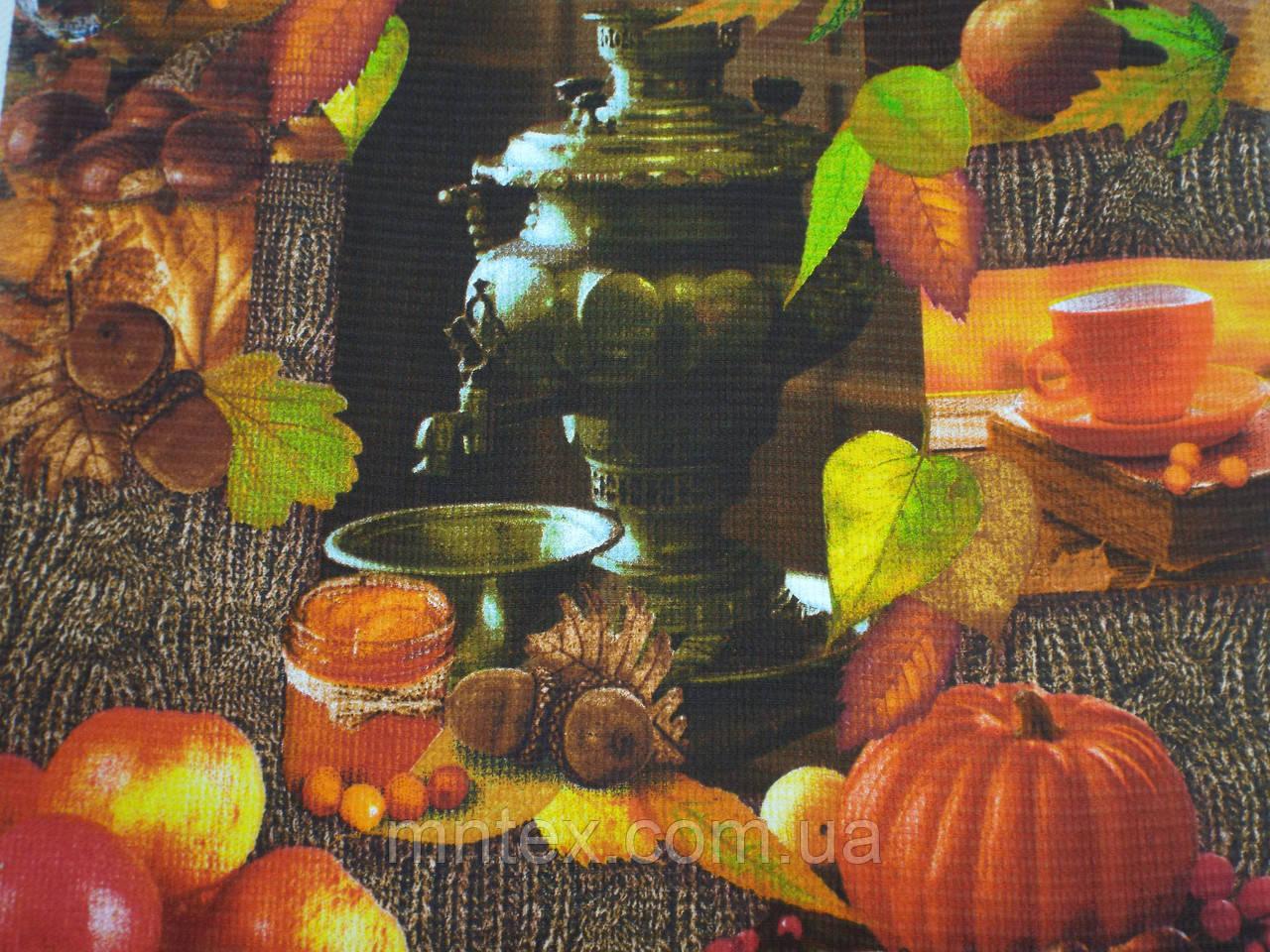 Ткань Вафельная Ширина 50 см. Чаепитие