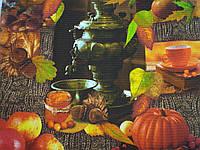 Ткань Вафельная Ширина 50 см. Чаепитие, фото 1