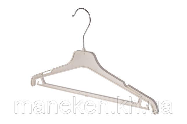 "Вешалка для одежды TREMVERY ""ВКР-40"" белая кремовая S2white, фото 2"