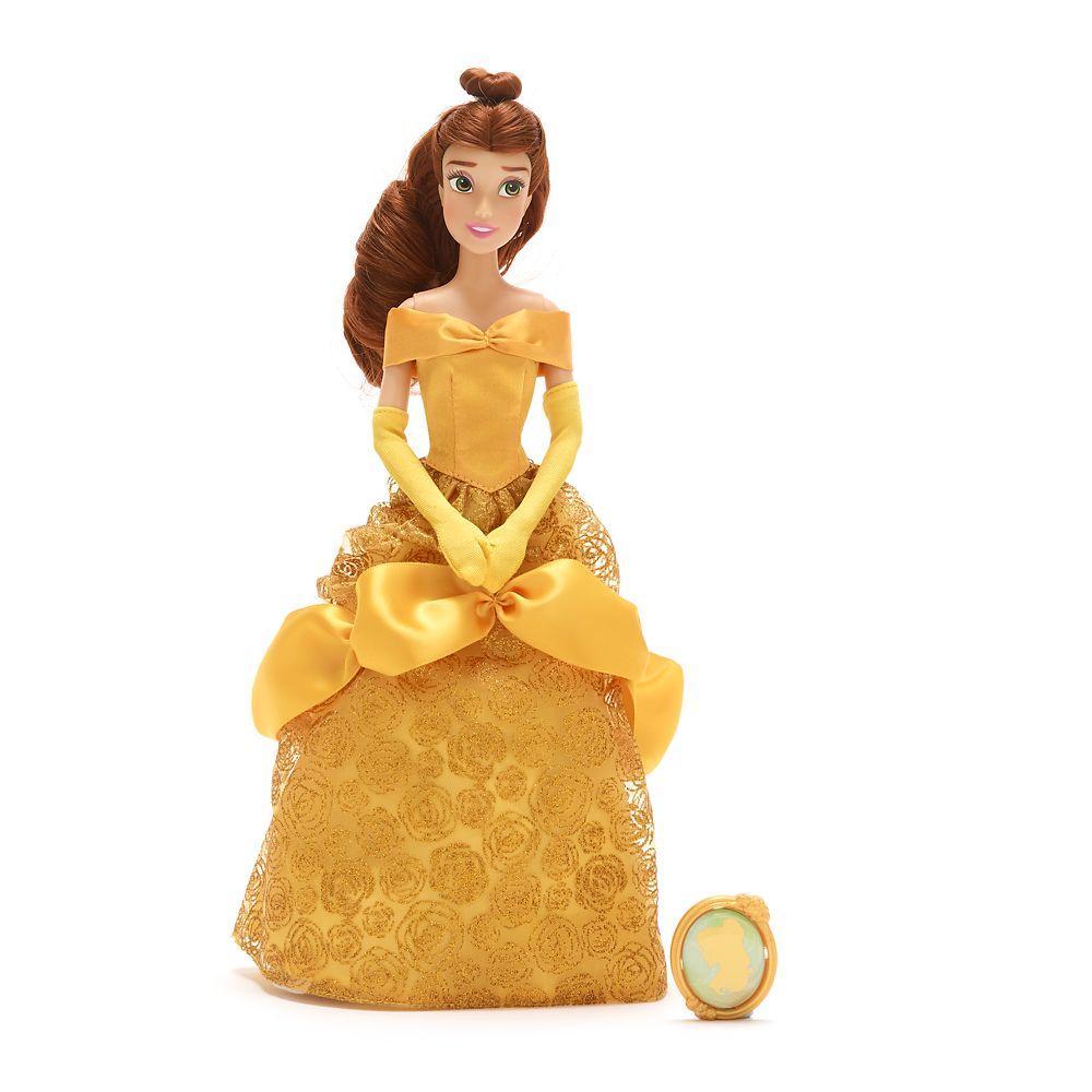 Классическая кукла Дисней Белль с кулоном Belle Classic Doll with Pendant