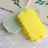 Силиконовая форма для льда CUMENSS Соты Yellow емкость для замораживания воды, фото 3