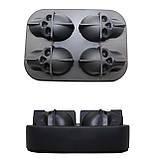 Силиконовая форма для льда CUMENSS Череп Black кубики льда для охлаждения напитков, фото 5