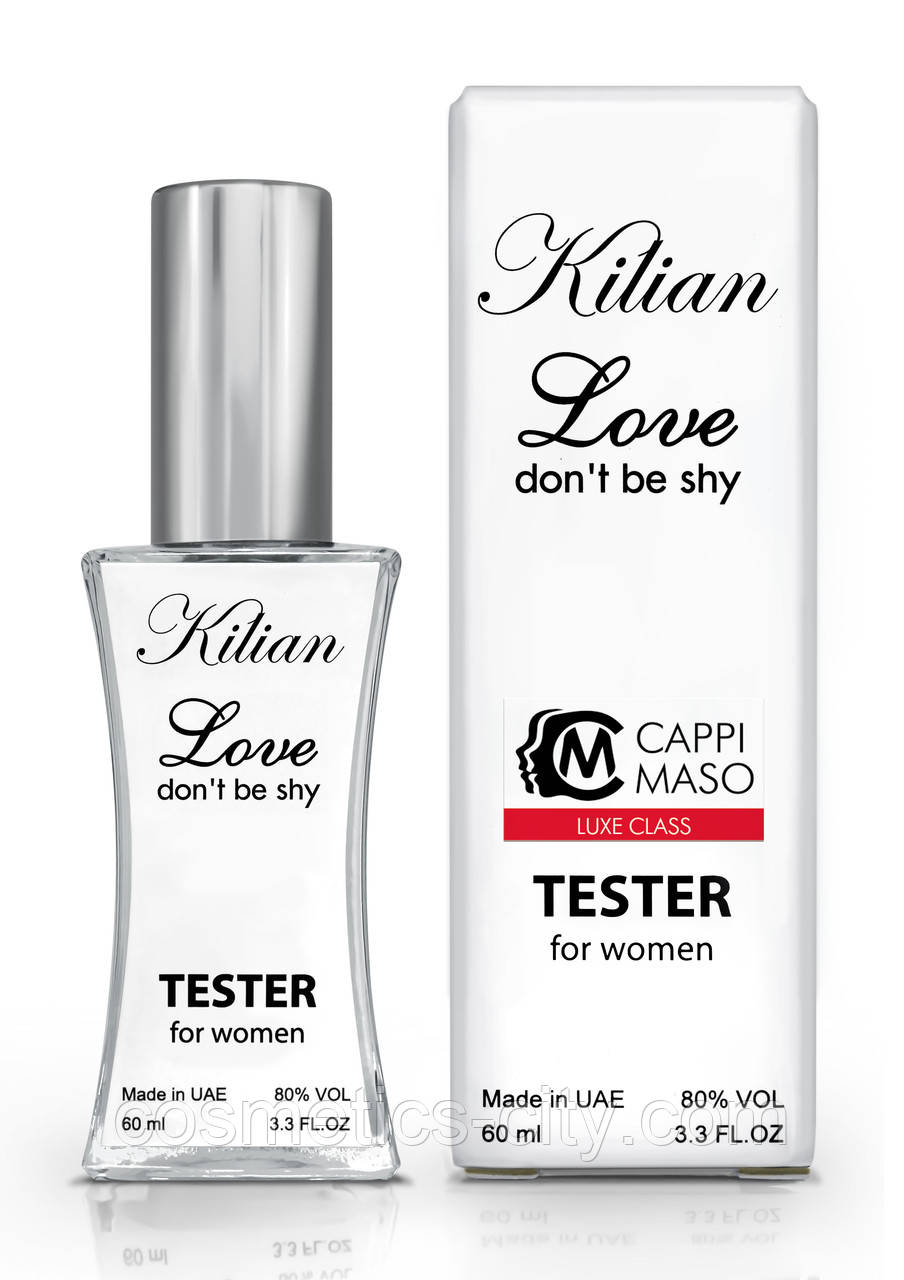 Тестер женский LUXE CLASS Kilian Love Don`t Be Shy, 60 мл.