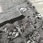 Носки мужские махровые высокие GRAND 27-29р коровы серые, фото 3