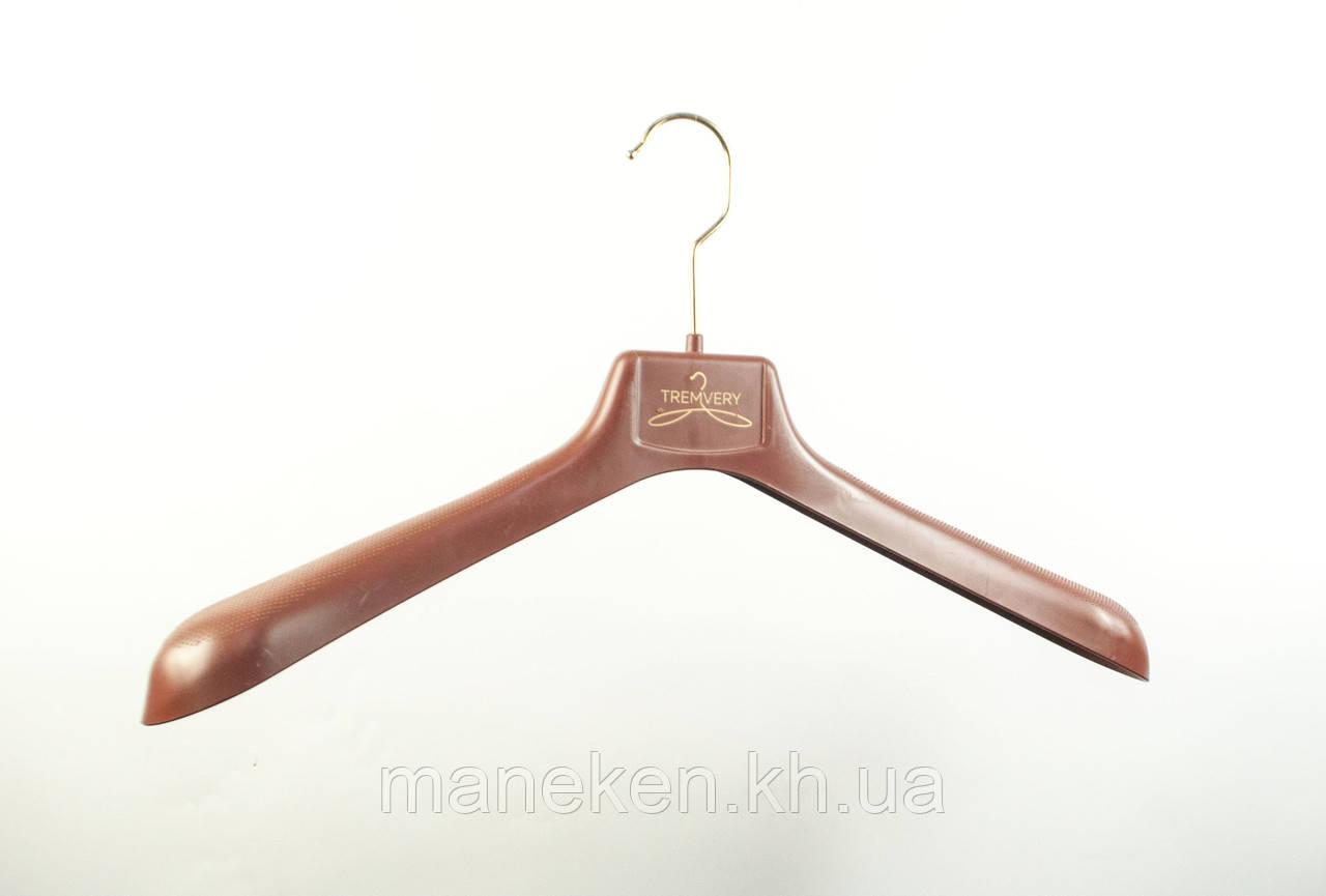 """Вешалка для одежды TREMVERY """"ВОП-47/6"""" коричневая (20517) S2color(G)"""