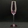"Набор бокалов для шампанского ""Розовый фламинго"" 250 мл, 4 шт"