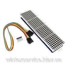 Модуль MAX7219 матричный модуль микроконтроллер 4 в одном дисплей с 5P
