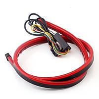 Светодиодная полоса на багажник, стоп + поворот + задний ход, 12 В, 120 см, фото 1