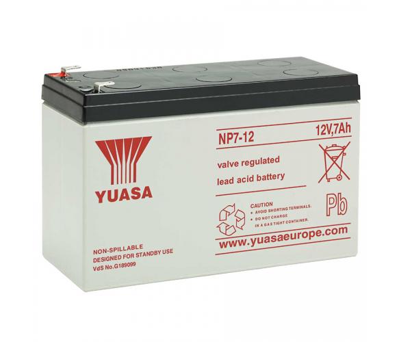 Аккумулятор AGM Yuasa 7Ah 12V NP7-12 Гелевый Q8