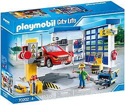 Плеймобил Автомастерская СТО ремонт машин Playmobil 70202 Car Repair Garage